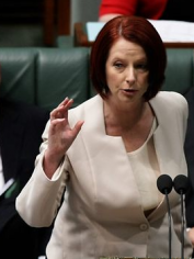 Prime Minister Julia Gillard. You lead your party. Now, lead it for better.