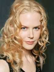Nicole Kidman with curly hair