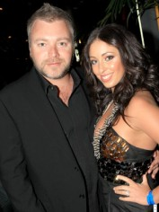 Kyle Sandilands and Tamara Jaber