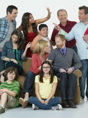 The cast of Modern Family.