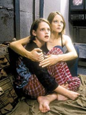 Jodie Foster and Kristen Stewart, in Panic Room