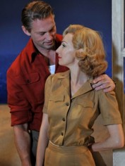 Lisa McCune in South Pacific with Teddy