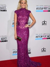 carrie underwood 40th american music awards