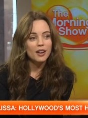 Melissa George on the Morning Show.