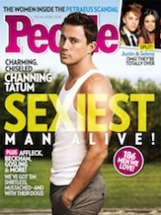People's Sexiest Man Alive 2012, Channing Tatum.