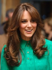 Kate Middleton last week.