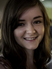 Brunette Teen Smiling
