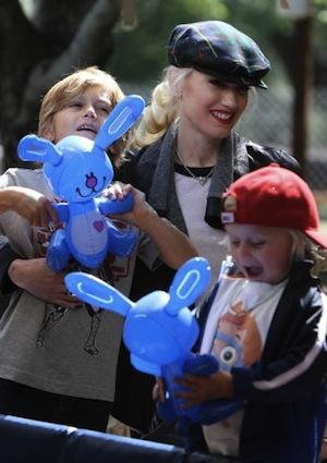 Gwen Stefani: over the top kids parties
