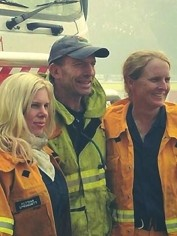 Tony Abbott fights fires