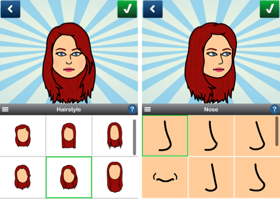 bitstrips hair face What are those random cartoons clogging up my Facebook feed?