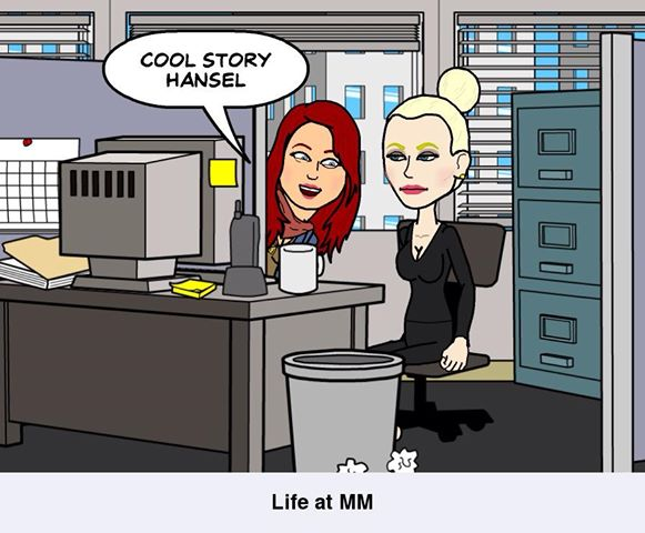 rosie nicky 2 bitstrips What are those random cartoons clogging up my Facebook feed?