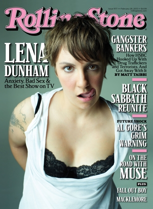 lena dunham rolling stone Finally. Two famous women who are proud to call themselves feminists.