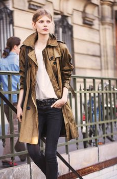 trench Paris Street Style: French Women Dont Wear Trackies.