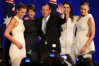 tony abbott and family