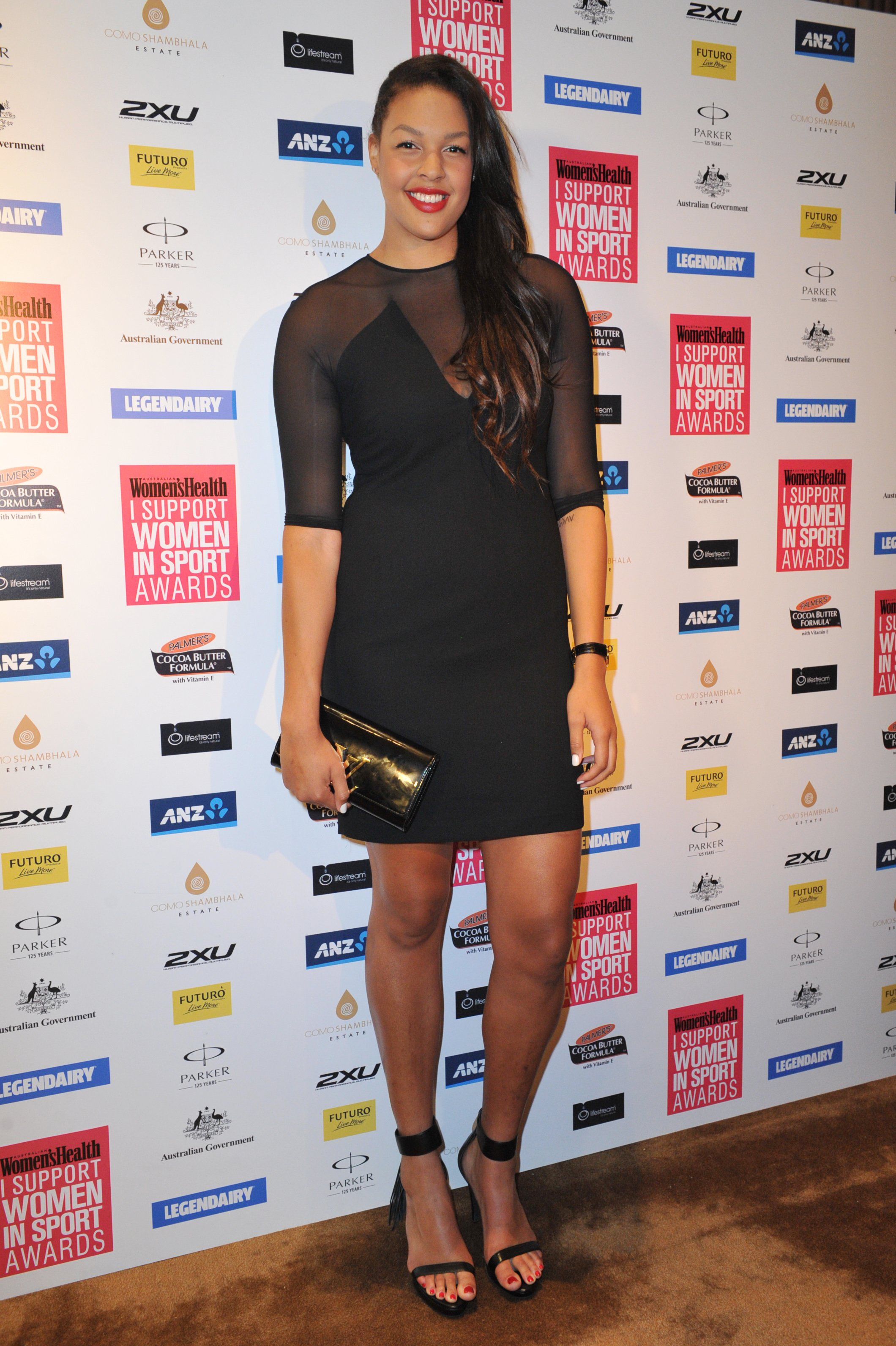 Liz At The I Support Women In Sport Awards