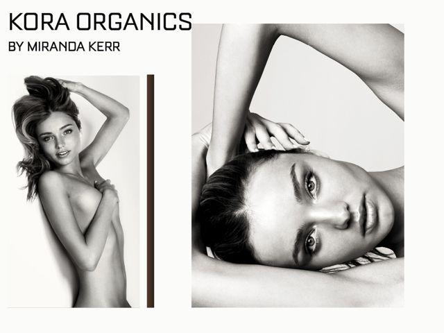Miranda Kerr, in an image from a Kora shoot.