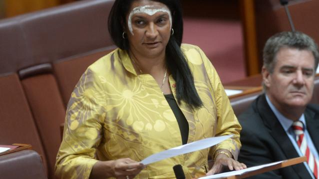 Nova Peris, the first Indigenous woman in parliament, delivered her maiden speech yesterday.