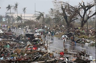 Philippines typhoon: The storm has wiped out entire villages